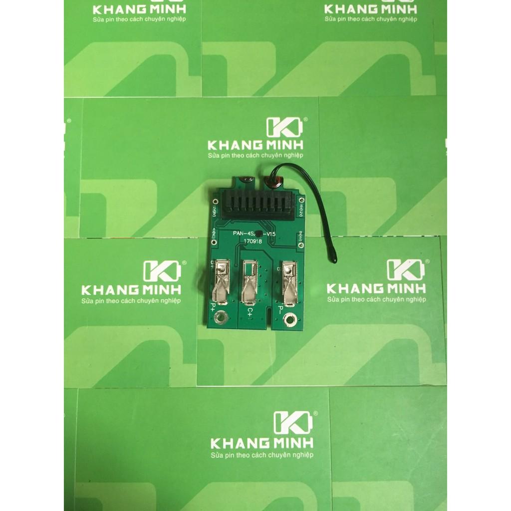 KM Mạch pin Panasonic 14.4V - 5.0Ah nhận sạc zin hệ 80 - 2954938 , 448480792 , 322_448480792 , 190000 , KM-Mach-pin-Panasonic-14.4V-5.0Ah-nhan-sac-zin-he-80-322_448480792 , shopee.vn , KM Mạch pin Panasonic 14.4V - 5.0Ah nhận sạc zin hệ 80