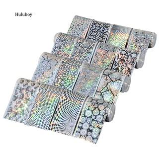 Set 16 lá giấy ảo ảnh ba chiều nhiều họa tiết dán móng tay trang trí nghệ thuật