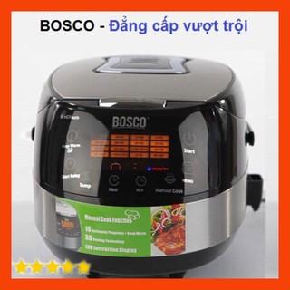 [HÀNG CHÍNH HÃNG] Bảo hành 12 Tháng Nồi cơm điện tử thông minh 17 chế độ nấu Bosco 3D BMC900X Hàn Quốc