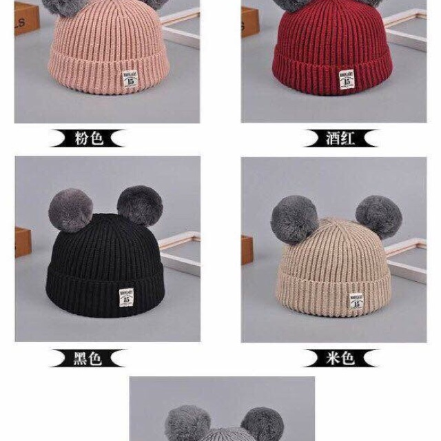 Mũ len quả bông - 3172763 , 725219524 , 322_725219524 , 58500 , Mu-len-qua-bong-322_725219524 , shopee.vn , Mũ len quả bông