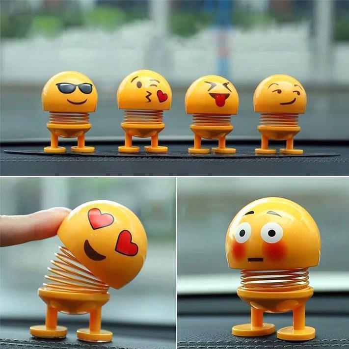 Combo 100 thú nhún Emoji lò xo biểu tượng cảm xúc_giá kho