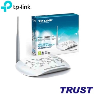 Modem ADSL Router kèm wifi TP-LINK TD-W8151N 1-port 150Mbps - chính hãng thumbnail