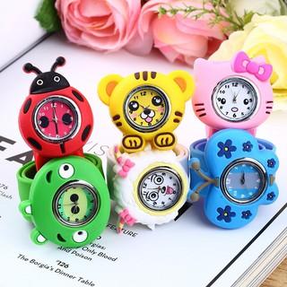 Đồng hồ đeo tay nhựa dẻo hình động vật cho bé trai và bé gái thumbnail