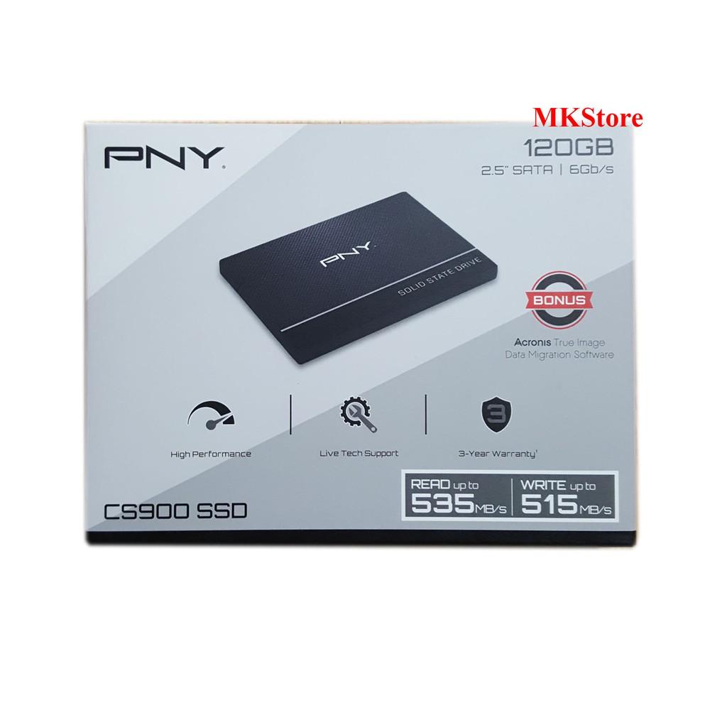 Ổ cứng SSD PNY 120G SATA 3 2.5 inch SSD7CS900-120-RB Giá chỉ 490.000₫