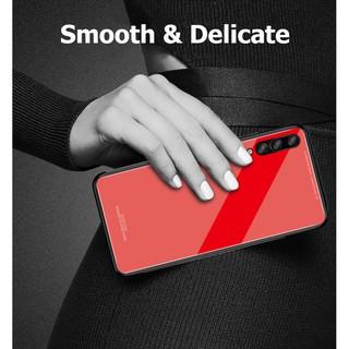 Ốp lưng kính Samsung Galaxy A7 2018 cao cấp