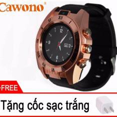 Đồng hồ thông minh mặt tròn Cawono Z5 cho trẻ đi hoc có sim nghe gọi 2 chiều(tặng cốc sạc)