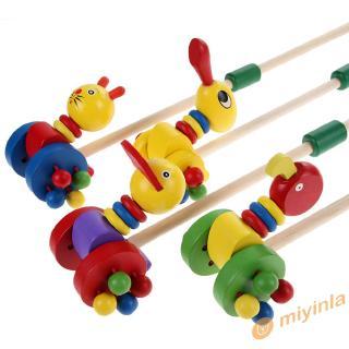 Đồ chơi xe đẩy gỗ hình động vật ngộ nghĩnh cho bé