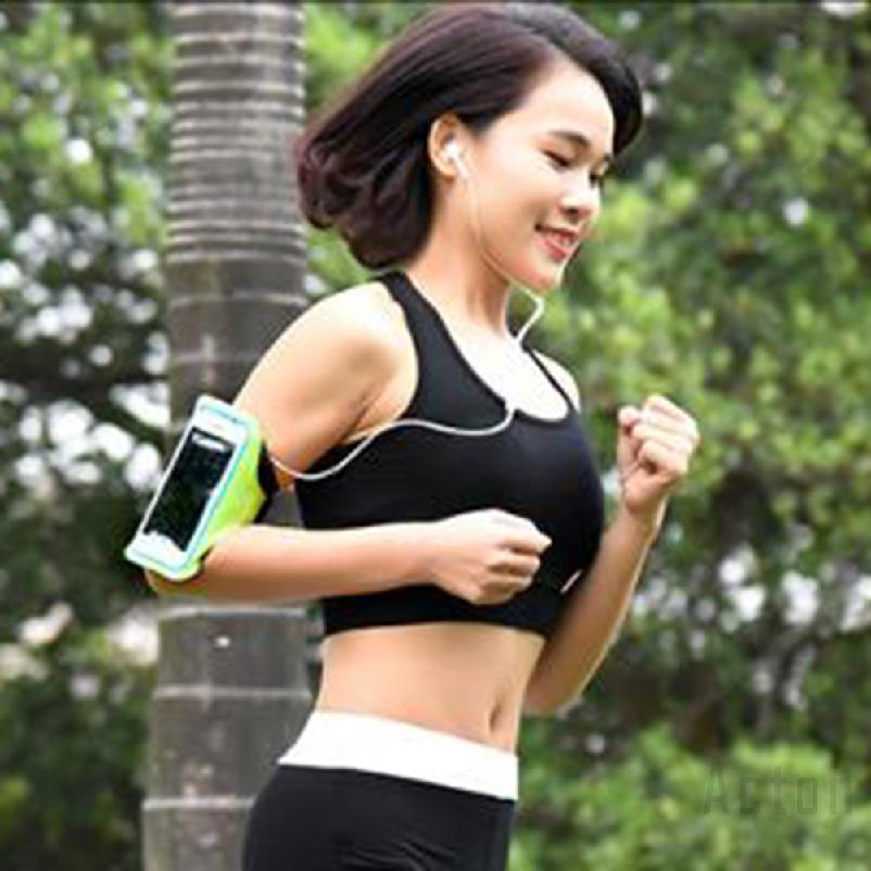 acton Mobile running phone arm bag outdoor sports bag running arm Walking Jogging Running Cycling