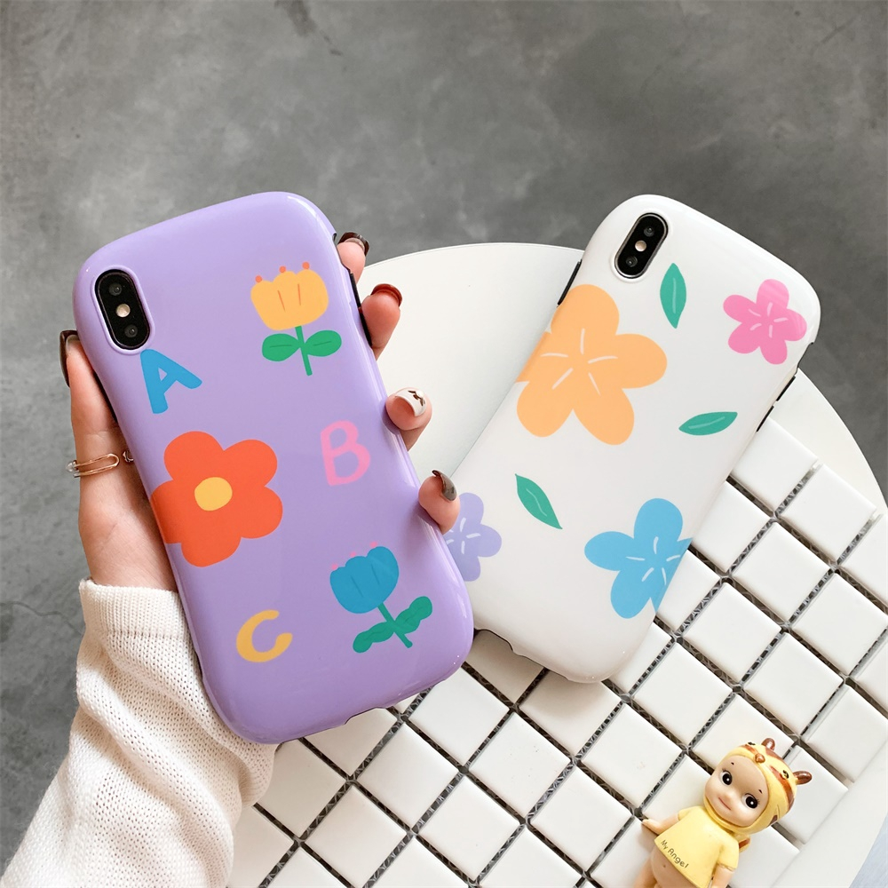 for iphone simple design flower nice fashion ins style cartoon