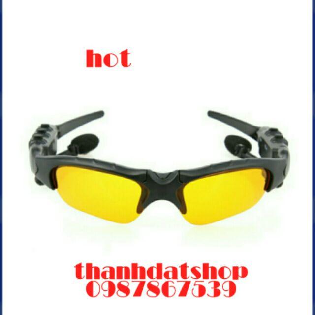 Mặt kính mát kiêm tai nghe Bluetooth tiện lợi