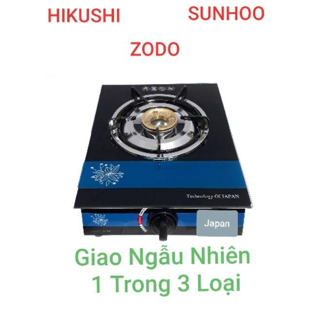 Bếp Ga Đơn Kính Việt Nhật SUNHOO_HIKUSHI_ZODO