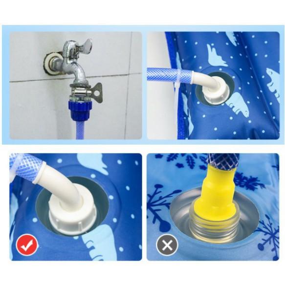 Nệm nước đệm nước mát mùa hè cao cấp vải thoáng khí chống nước tiện dụng gia đình công sở