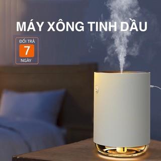 Máy Xông Tinh Dầu Thơm, Khử Mùi Phòng, Phun Sương Tạo Ẩm, Đèn LED Trang Trí Phòng Ngủ