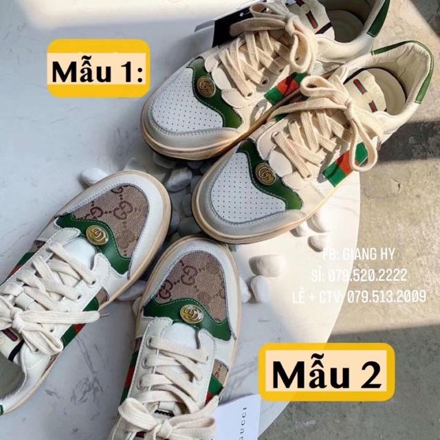 Giày GU buộc dây
