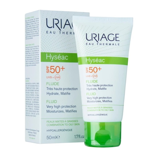 Kem chống nắng dành cho da dầu mụn Uriage