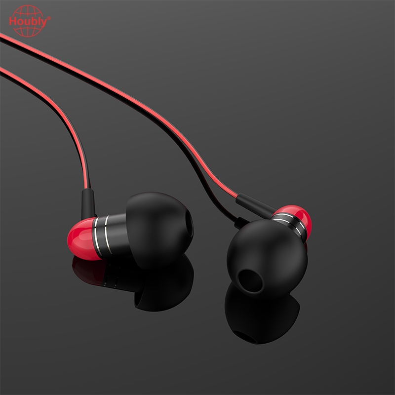 Houbly Langsdom M406C Ultralight In-ear Earphones with Microphone Supports Hands-free Call and Volume Control
