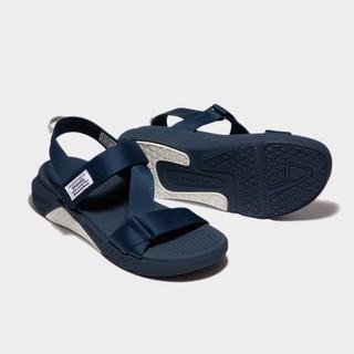 [Mã FASHIONRNK giảm 10K đơn 50K] Shondo Sandals F7 Racing đế xanh phối trắng quai xanh đen F7R3535 thumbnail