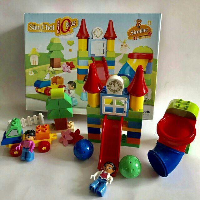 BỘ LEGO LẮP RÁP CÔNG VIÊN (LOẠI LỚN)