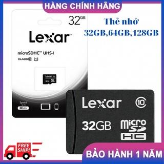 Thẻ Nhớ Micro SDXC LEXAR 32GB, 64GB,128GB Class 10 Chính Hãng thumbnail