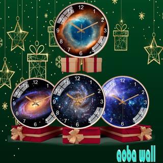 Đồng hồ treo tường kim trôi cao cấp AOBA-MK162_166