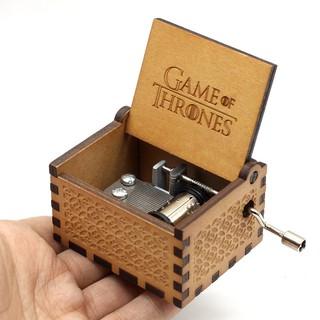 Hộp nhạc gỗ – GameofThrones – Nâu gỗ