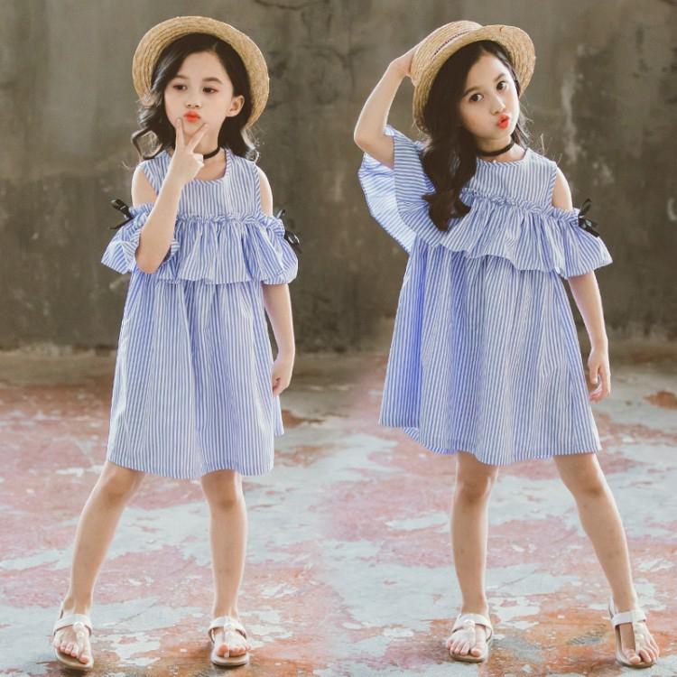 Váy nữ thanh niên hàn quốc, váy tiểu học dễ thương, váy trẻ em hot sale