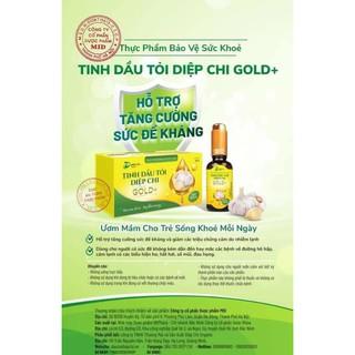 [MẪU MỚI] Dầu tỏi Diệp Chi Gold +tặng siro húng chanh thumbnail