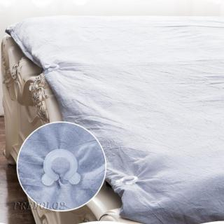 8x Plastic Clear Bed Quilt Cover Non-Slip Fixed Anti-Move Buckle Fixer 35mm
