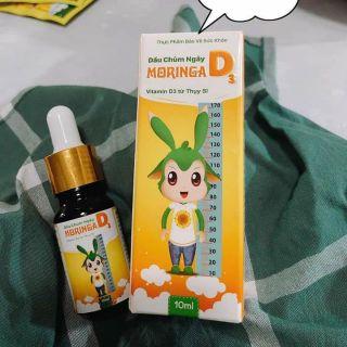 Dầu Chùm Ngây Moringa D3 – Thực phẩm Bổ Sung Vitamin D3 hiệu quả cho bé