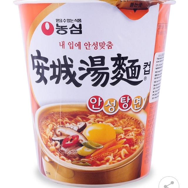 Mì ăn liền ansungtangmyun Nongshim 65g HÀNG ĐẶT
