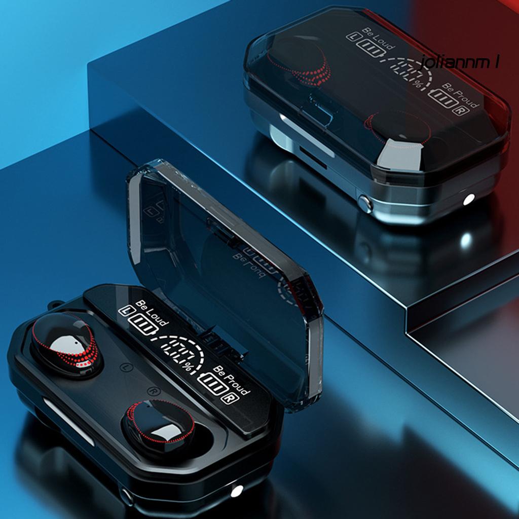 Tai Nghe Bluetooth 5.1 Không Dây A18 Led Giảm Tiếng Ồn Chất Lượng Cao