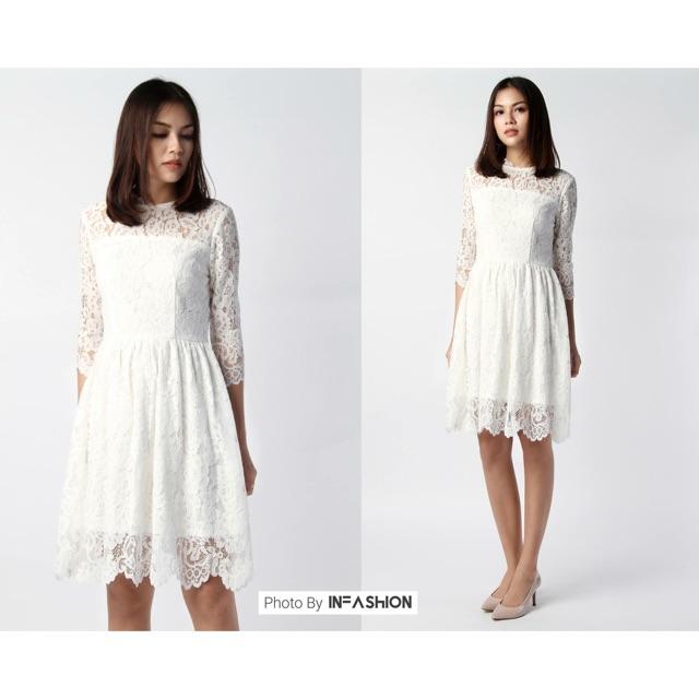 Đầm ren nicee