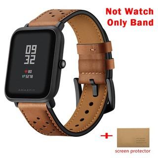 Dây đeo da 20mm dành cho đồng hồ thông minh Huami Amazfit Bip Youth