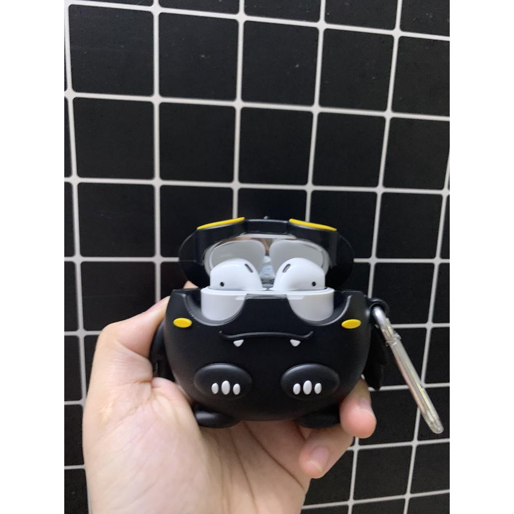 Set Case Vỏ Bọc Airpods Đựng Tai Nghe Airpod 1/2/Pro Răng Sún Béo Ú Kèm Móc Khóa Siêu Dễ Thương - Chinchin Case