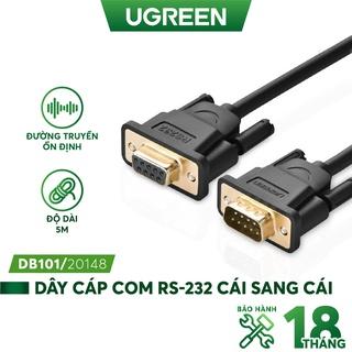 Dây nối dài COM RS-232 đực sang cái UGREEN DB101 - Hàng phân phối chính hãng - Bảo hành 18 tháng thumbnail