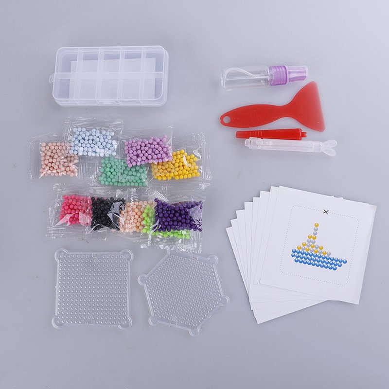 Youyimaoli Education toy 1000pcs DIY fuse bead plastic fuse beads kid DIY crafts