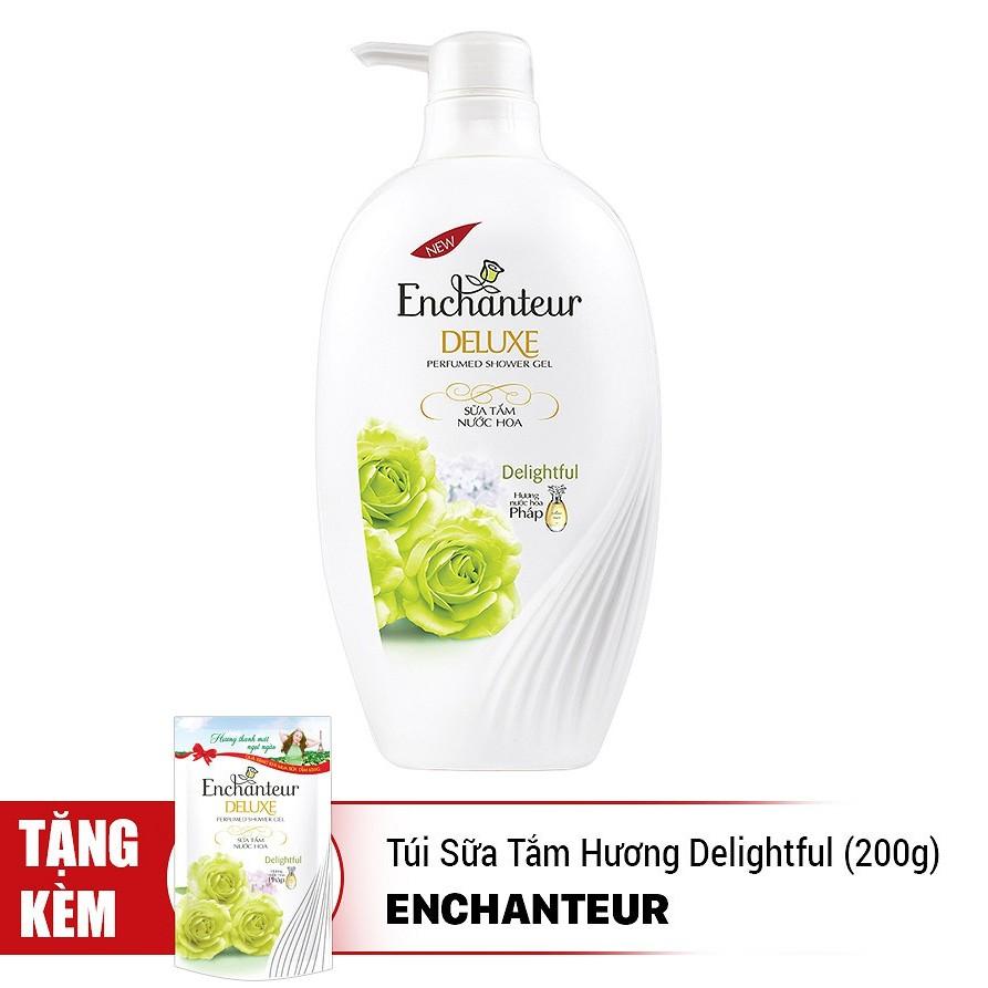 Sữa Tắm Enchanteur Hương Nước Hoa Delightful (650g) - 2984174 , 1316719709 , 322_1316719709 , 154000 , Sua-Tam-Enchanteur-Huong-Nuoc-Hoa-Delightful-650g-322_1316719709 , shopee.vn , Sữa Tắm Enchanteur Hương Nước Hoa Delightful (650g)