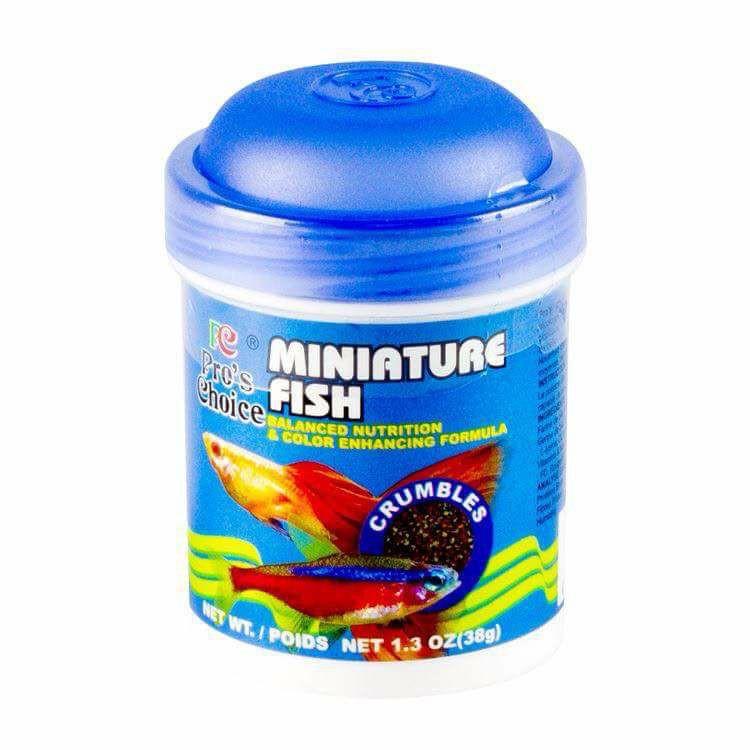 Thức ăn dành cho các dòng cá thủy sinh Miniature