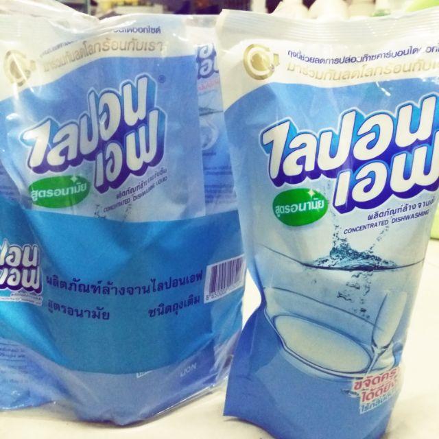 Com bo 3 túi Nước rửa bát TAIJAU 550ml thái lan.