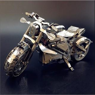 Mô hình 3D kim loại lắp ráp Mô tô Harley-Davidson Project LiveWire [ Chưa Lắp ]