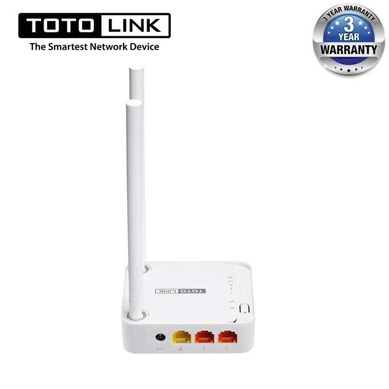Bộ phát WiFi Router TOTOLINK N200RE-v3 - Hãng Chính Hãng
