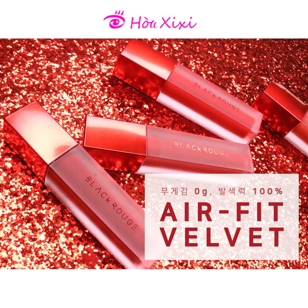 [Sẵn 17 màu] Son Kem Lì Black Rouge Air Fit Velvet Tint
