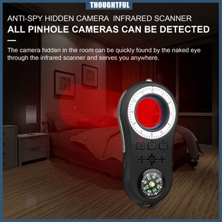 ♡ S100 detector Hotel anti-sneak shooting and anti-eavesdropping wireless precision alarm detector infrared gps detector ☾MOON