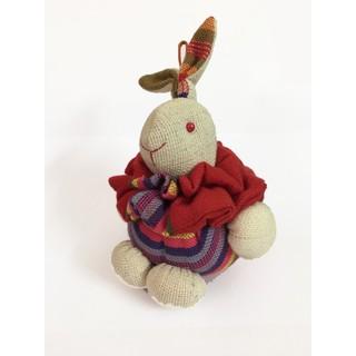 Thú bông Buratino – Thỏ béo ST18-0016 – hoa văn ngẫu nhiên