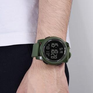 Đồng hồ điện tử SYNOKE tích hợp đèn LED đa năng cao cấp dành cho nam