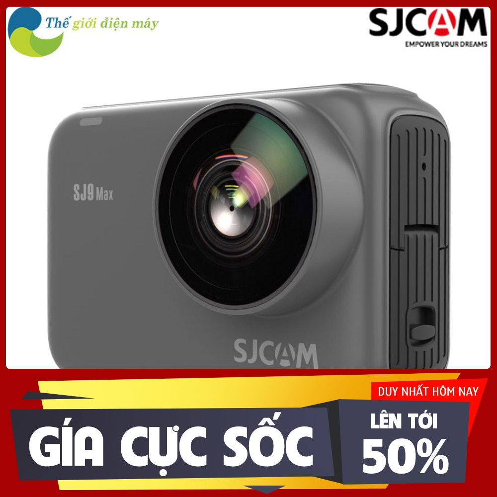 [ SALL OFF ] [Mã ELMSHX03 hoàn 6% xu đơn 2TR] Camera hành trình SJCAM SJ9 Max - Bảo hành 12 tháng - Shop Thế giới điện m
