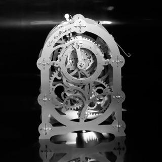 📌(HÀNG CÓ SẴN) Mô hình lắp ghép kim loại 3D – Mô hình cơ động học Mysterious Timer