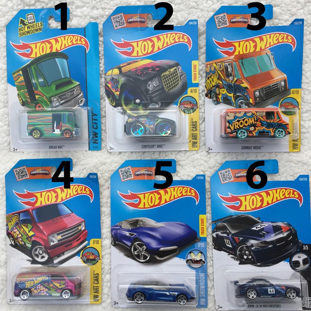 Xe Hot Wheels cơ bản - Hàng chính hãng (N2)
