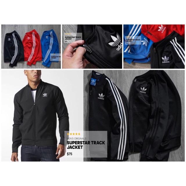 Áo khoác Adidas Bomber Superstar Track Jacket