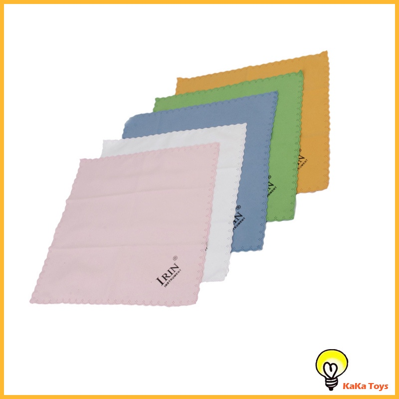 [KaKa Toys] 5x Cleaning Cloth for Guitar Piano Musical Instruments Polishing Mixed Color